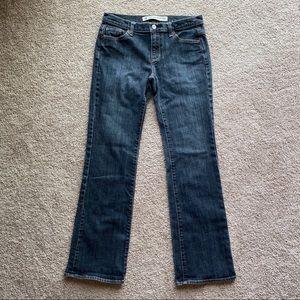 Gap Low Rise Bootcut Jeans 6R Dark Wash